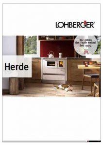 Lohberger Küchenherde Katalog