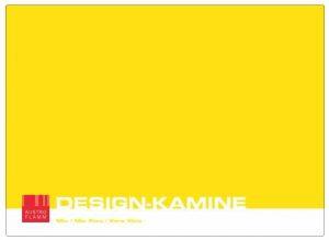 AustroFlamm Designkamine Katalog
