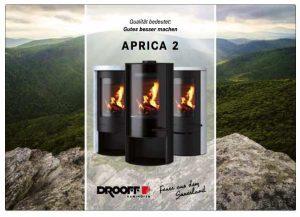 DROOFF Aprica 2 Kaminöfen